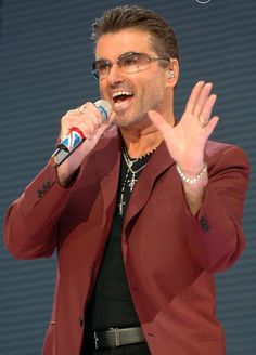 Singer George Michael on June 25, 2013