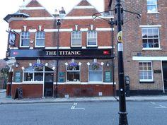 The Titanic Pub, Southampton, England 2012