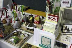 Advent Markt Weihnachten Stampin'UP Aigenmade.com