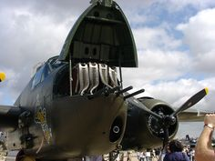 The like the Mosquito fighter bomber had significant firepower added. It had machine guns and a cannon. The fuselage had to be strenghened to withstand the firepower. Us Military Aircraft, Ww2 Aircraft, Aircraft Images, War Machine, Machine Guns, Ww2 Planes, Vintage Airplanes, Nose Art, Royal Air Force