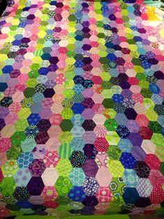 stripes of like color hexagons Via EPP group on fb.