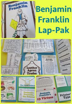"""""""Teach Beside Me"""" did a combination review of the Colonial Life Time Traveler along with the Benjamin Franklin Lap-Pak!"""