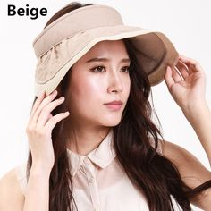 Sun visor hat for women wide brim protection hats UV package