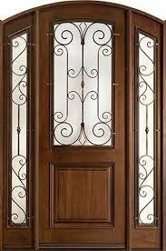 color de madera para puertas de metal - Buscar con Google