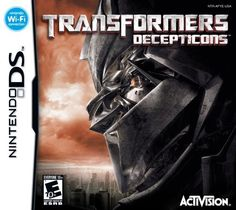 Transformers - Decepticons - Nintendo DS by Activision @ niftywarehouse.com #NiftyWarehouse #Movies #Transformers