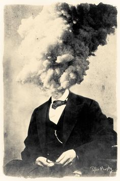 Items similar to Exploding Head fine art surreal collage montage print. on Etsy Surreal Collage, Collage Art, Collages, Photomontage, Image Film, Photographie Portrait Inspiration, Photoshop, Montage Photo, Cool Art