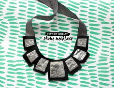 MY DIY | Stone Statement Necklace | I SPY DIY
