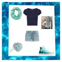 """""""Poseidon inspired"""" by piper-staunton on Polyvore featuring WearAll, Paige Denim, Converse and Smartwool"""