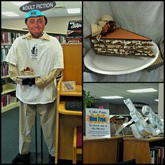 Duff of Ace of Cakes is in the Milford Library to highlight our cake pan collection. Check one out free of charge for three days! We have more than fifty to choose from! by milfordlibrary51351, via Flickr