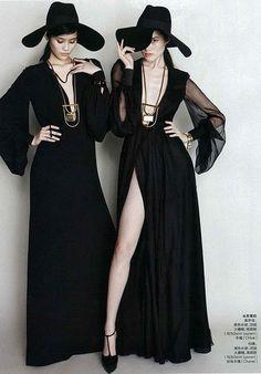 Shu Pei, Sui He & Ming Xi for Elle China March 2013