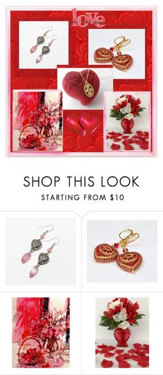 """Valentine's Day Love"" by imaginebaby ❤ liked on Polyvore featuring Ahava and vintage"
