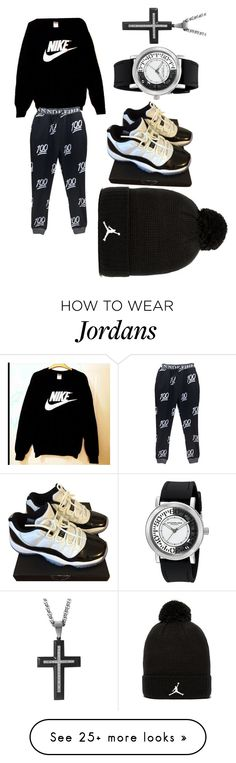 """""""Untitled #1"""" by savage101-1 on Polyvore featuring NIKE, Stührling and Jordan Brand"""