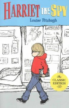 Harriet, the spy by Louise Fitzhugh  Click the cover image to check out or request the children's books kindle.