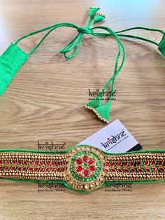 Saree Belt, Saree With Belt, Saree Blouse, Long Kurta Designs, Fancy Blouse Designs, Saree Accessories, Diy Accessories, Saree Brooch, Lehenga Pattern