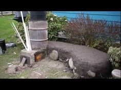 Rocket Stove Outdoor System: BBQ, Oven, Boiler, Mass Heater, Firepit - YouTube