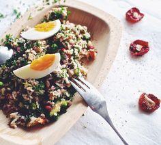 Aito riisisalaatti tonnikalasalaatti italialainen pyttipannu ceviche - Suusta suuhun | Lily.fi