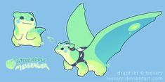 Dragoon Draphibi: Green Apple Messenger CLOSED by tessary on DeviantArt
