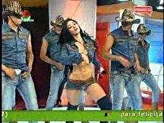Diosa Canales bailó en Televen