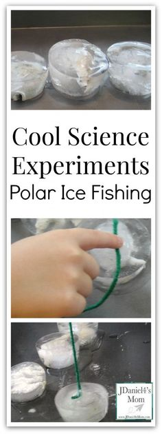 Cool Science Experiments- Polar Ice Fishing
