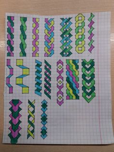 Graph Paper Drawings, Graph Paper Art, Zentangle Drawings, Cool Art Drawings, Easy Drawings, Bullet Journal Banner, Bullet Journal Writing, Bullet Journal Ideas Pages, Doodle Designs