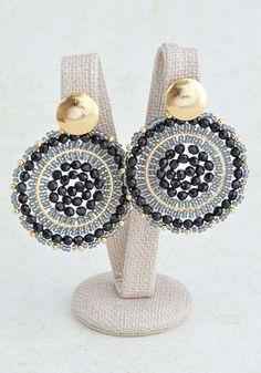 Jewelry Making Boho . Jewelry Making Boho Beaded Earrings Patterns, Seed Bead Earrings, Diy Earrings, Bridal Earrings, Gemstone Earrings, Fashion Earrings, Mandala Jewelry, Handmade Beaded Jewelry, Beading Tutorials