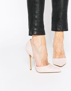 The perfect heels <3 http://www.asos.com/Carvela/Carvela-Albert-Nude-Point-Toe-2-Part-Court-Shoes/Prod/pgeproduct.aspx?iid=5379348&affid=13875&channelref=social+campaigns