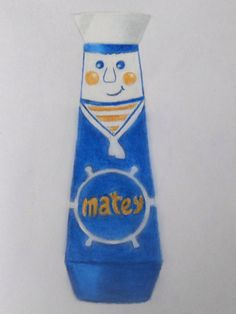 Original Matey design now only available in coloured pencil sketch!!! by Becky Walker.