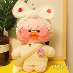 Buy cafe Mimi stuffed toys duck plush dolls for kids with different colors and size. It also can be used for home decoration. It's a funny home decor present. Life Like Baby Dolls, Life Like Babies, Cartoon Wallpaper Hd, Wallpaper Iphone Cute, Mochi, Duck Toy, Duck Duck, Baby Icon, Funny Home Decor