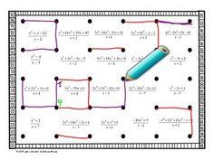 Algebra 2 PreCalculus Synthetic Division Dots and Boxes Fun Game Algebra 2 Activities, Algebra Games, Math Lessons, Maths, Math Tutor, Teaching Math, Math Teacher, Teaching Tools, Synthetic Division
