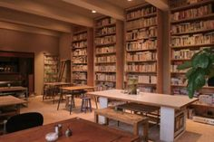 Bundan Coffee and Beer (4-3-55Komaba, Meguro-ku, Tokyo) A bookworm's paradise