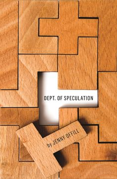 Dept. of speculation cover. Re-create with almost any other material--flowers, bricks, silverwear--whatever represents the brand.