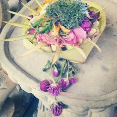 Bali, offer, gods, tempel