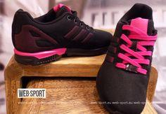 Damskie buty sportowe - Adidas ZX Flux K S74954