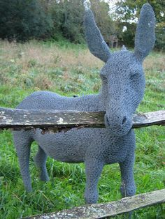 ... friendly donkey, beautifully made by the very talented Helen Godfrey