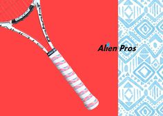 X-Dry [Fun] Tribe Theme Stripes. Excellent sweat-absorption and soft touch to provide unmatched racket control and performance !!!   More choices available on alien-pros.com !     Ongoing FLASH SALE on alien-pros.com until OCT 31st !!  BUY 2 ADVENTURERS or BLACK POWER packs and GET 1 FREE piece among different designs ! Code: halloween ✌ #bepro #beunique