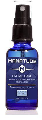Ansiktsolja 30 ml - Argan, Tea Tree och Fikonkaktus fröolja - Vårdande ansiktsolja rik på protein!