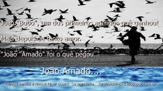O Mundo Invisível de uma Mulher: João Amado...