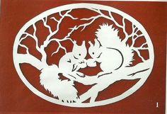 Фото, автор liubov.brajuk на Яндекс.Фотках Paper Snowflake Patterns, Paper Cutting Patterns, Paper Snowflakes, Glass Painting Designs, Paint Designs, Bois Intarsia, Love Silhouette, Fun Crafts, Paper Crafts