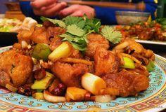 Műkedvelő Hedonista: Kínai ropogós csirkecomb kockák