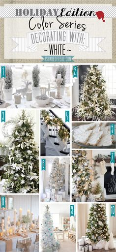 Color Series {Holiday Edition} White | A Shade Of Teal
