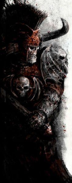 Крелл | Waha вики | FANDOM powered by Wikia Vampires, Warhammer Vampire Counts, Warhammer Fantasy, Barbarian, Warriors, Death, Art, Art Background, Kunst