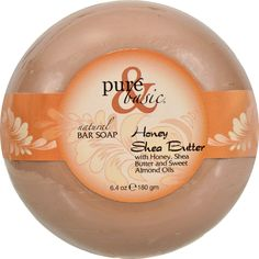 Pure and Basic Natural Deodorant Bar Soap - Honey Shea Butter - Case of 6 - 6.4 oz - These luxurious moisturizing bar soaps are formulated to gently cleanse and revitalize the body rinsing away clean without leaving any filmy residue. Leaves your skin feeling soft and cleansed of impurities while providing the powerful deodorizing benefits of green tea for all day freshness. Intense triple-milling process for quality giving you a long lasting bar with fresh aromas to the very end. Enjoy all…