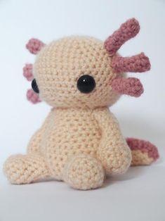 Axolotl amigurumi pattern by Maffers Toys