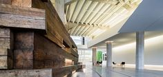 Designing and building with rustic Reclaimed Douglas Fir at 888 Brannan, San Francisco