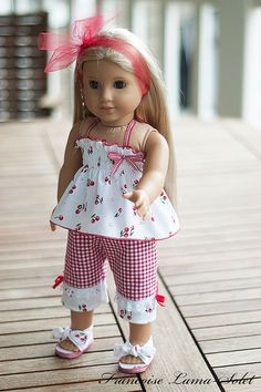 "American Girl doll clothes 18"" doll"