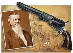 Confederate Gen. George Dibrell and his Colt Model 1851 Navy .36-caliber