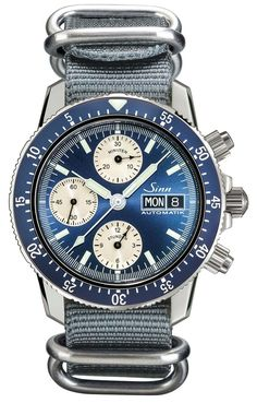 """Sinn 103 A Sa B Watch: The New Arktis Of 2015? - by Ariel Adams - see more of this fresh release on aBlogtoWatch.com """"For 2015, Sinn has released the limited edition 103 A Sa B watch, hearkening the beautiful blue tones of cult favorite Sinn 203 Arktis. Blue happens to be hot this year (if you didn't notice), and I am glad that watch makers ranging from those producing fashion items, to companies known for making seriously high-function tool watches, like German Sinn, are embarking..."""""""