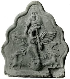 antefix dall'Italia, datata al 40-70 d.C. (ma capricorni?) - British Museum