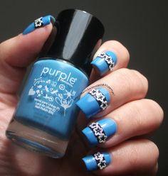 The Clockwise Nail Polish: Puple Professional Nº59 #nail #nails #nailart