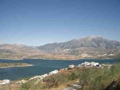 Lake Vinuela (view From Mum and Gav's place)